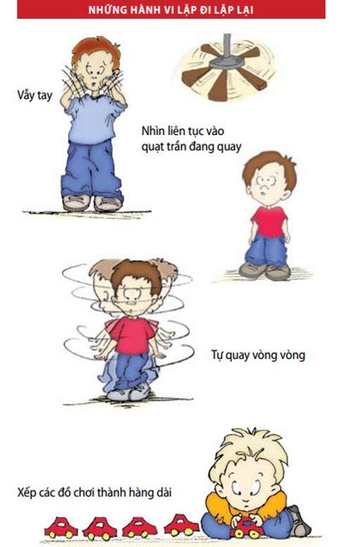 Nhận biết trẻ tự kỷ